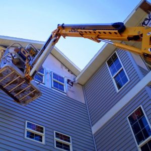 townhouse siding installation