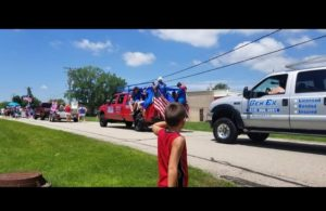 Gen Ex in a 4th of july parade